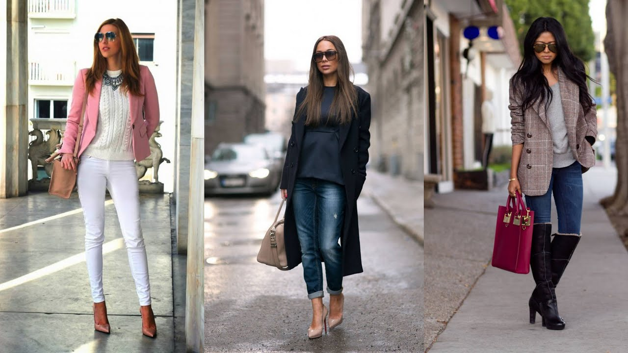 21 Seriously Chic Street Style Outfits Youtube
