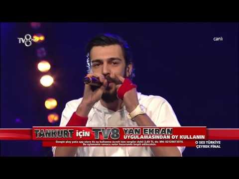 TANKURT MANAS   SAY 31 Ocak O Ses Turkiye Performansi FULL HD KALITE SOZLERIYLE VIDEOARA NET