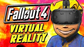 FALLOUT 4 IN VR! | Fallout 4 Virtual Reality Funny Moments (HTC Vive)