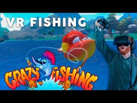 Crazy fishing vr gameplay 39 i 39 ve gone vr fishing 39 htc for Crazy fishing vr