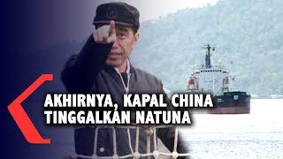 Jokowi Datang, Kapal China Tinggalkan Natuna