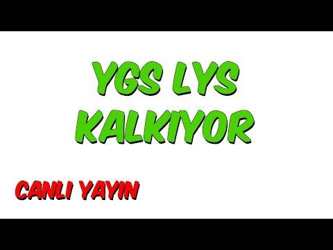 YGS LYS KALKIYOR