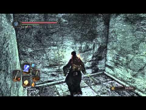 DARK SOULS™ II: Ruin Sentinels illusory walls