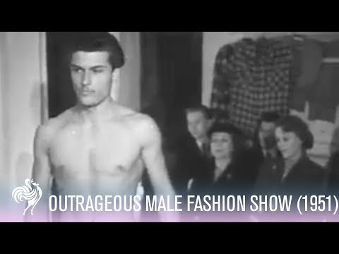 Male Models In Swimwear Designed By Dale Cavahnaugh (1950s) | Vintage Fashions