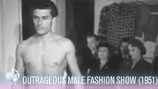 Outrageous Male Fashion Show!