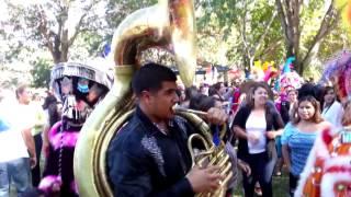Los Chinelos en el parque Centennial, Santa Ana, Ca evento para recaudar fondos a damnificados