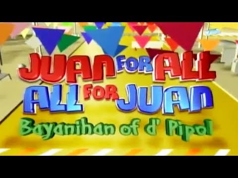 Eat Bulaga October 19 2017: Juan For All All For Juan Sugod Bahay Live