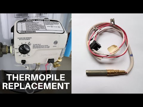 Thermopile Replacement on a Water Heater
