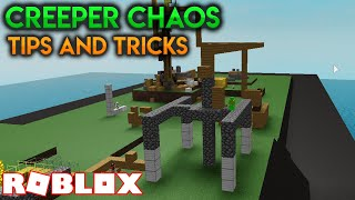 Basic Tips And Tricks On How To Survive, For New Players!!! | Creeper Chaos (ROBLOX)