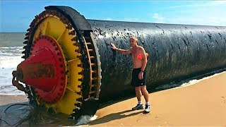 15 STRANGEST THINGS FOUND ON THE BEACH