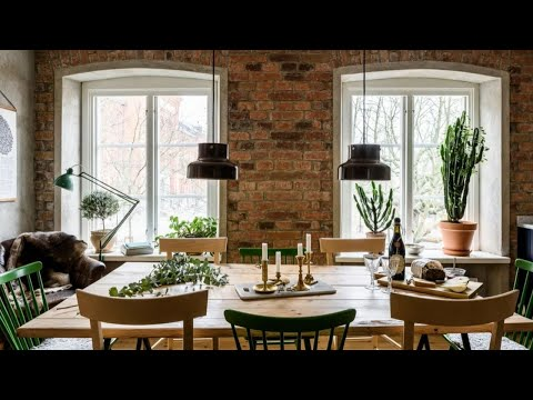 Match Of Scandinavian & Industrial Style, Stockholm Apartment Tour 🍍