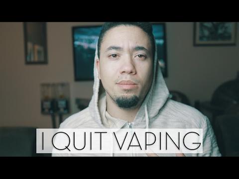I QUIT VAPING