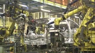 2 Millionth Qashqai Rolls Of The Line At Sunderland Plant - B-Roll