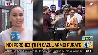 Noi percheziții în cazul armei furate de la femeie jandarm la protestul ddin 10 august