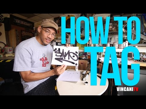 How To Tag | Sanoizm | Graffiti For Beginners