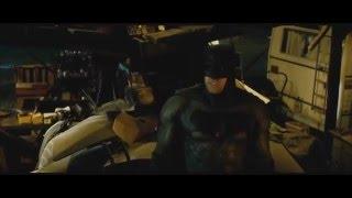 Эксклюзивная сцена из фильма Бетмен против Супермена 2016