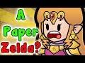 What If Nintendo Made PAPER ZELDA? (Paper Mario X Legend Of Zelda)