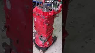 Ремонт коробки передач ZF 16S220 от автомобиля MAN XXL.
