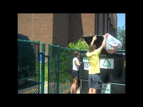 Waste Management at UVM New Student Orientation - 2011