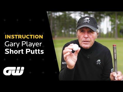 Gary Player Short Game Tips | Short Putting | Instruction