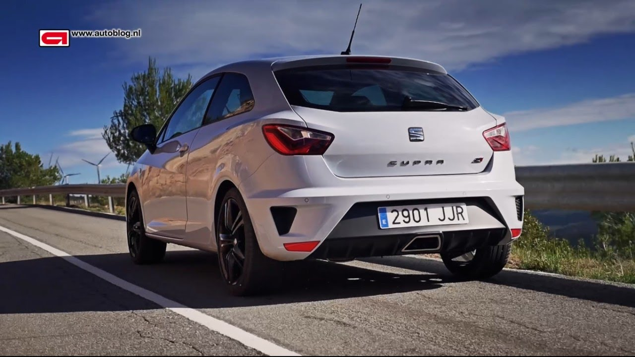 seat ibiza cupra 2015 review youtube. Black Bedroom Furniture Sets. Home Design Ideas