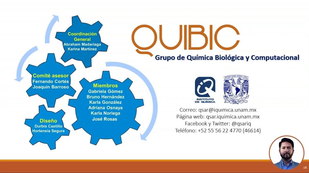 La Interfase Entre la Química y la Biología Utilizando Métodos Computacionales – Grupo QUIBIC