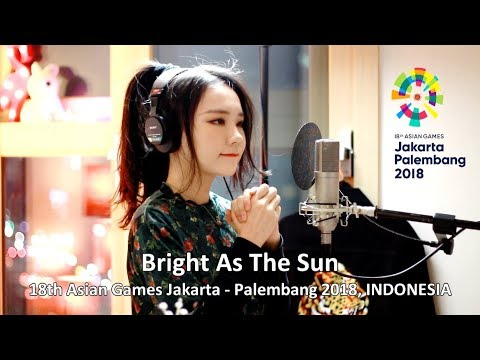 J Fla - Bright As The Sun ( Asian Games 2018 Official Song )