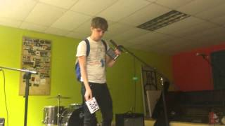 Steve Roggenbuck (live at Newtown Teen Center)