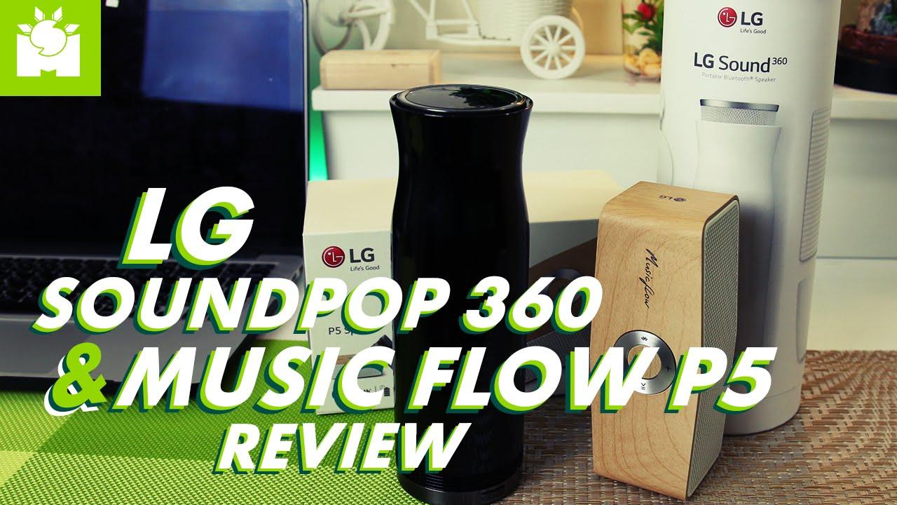 LG Sound 360 + Music Flow P5 speaker Full Review