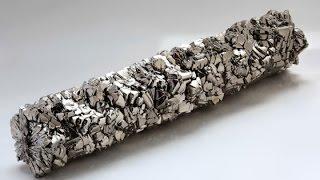 Производство титана. Титан один из самых прочных металлов в мире!