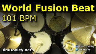 drum beat world fusion 101 bpm