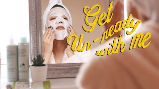 GET UN-READY WITH ME, EVENING ROUTINE | AD | itslinamar