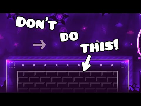 [Tutorial] Block Design Common Mistakes And Tips - Geometry Dash 2.1