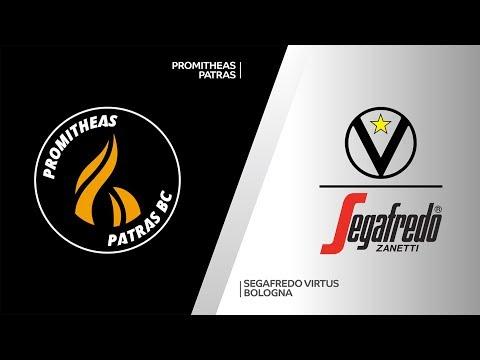 Promitheas Patras - Segafredo Virtus Bologna Highlights | 7DAYS EuroCup, RS Round 4