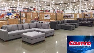 COSTCO FURNITURE SOFAS ARMCHAIRS CHAIRS HOME DECOR SHOP WITH ME SHOPPING STORE WALK THROUGH 4K