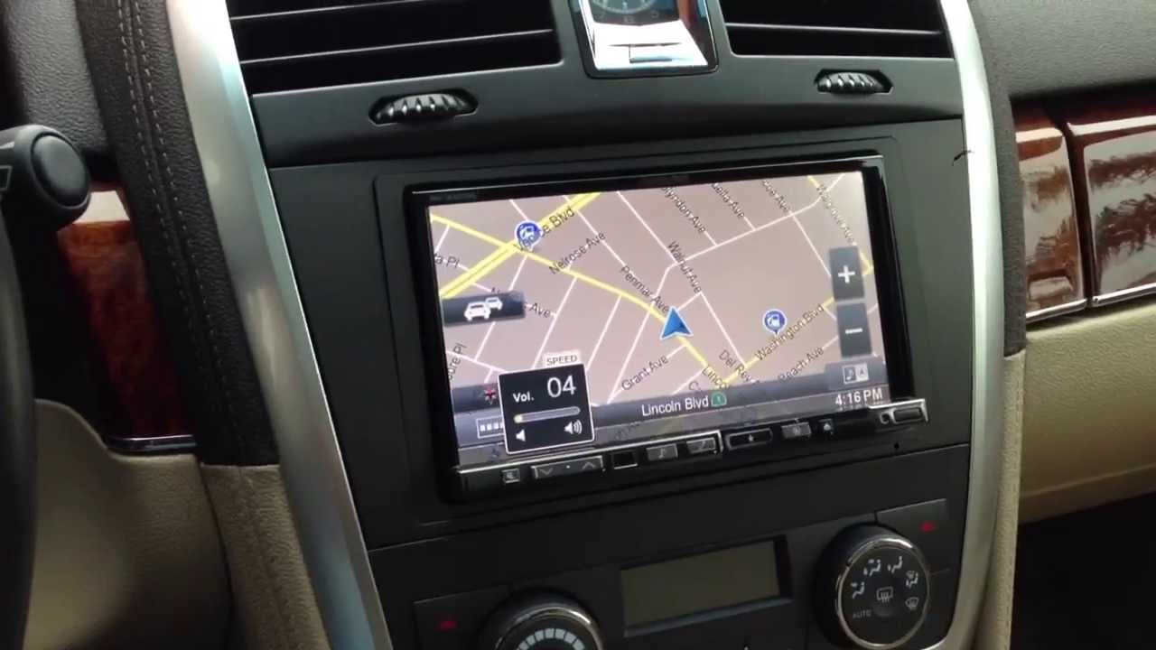 2008 Cadillac Srx New Alpine Navigation Touchscreen And