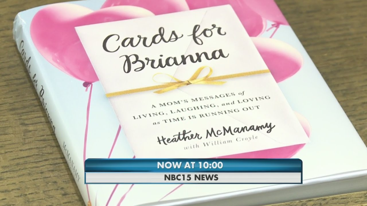 cards for brianna a moms messages of living laughing and loving as time is running out