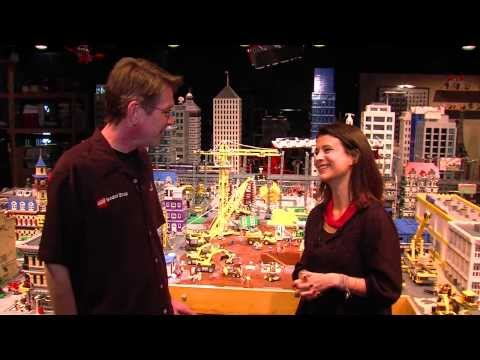 """The LEGO Movie"" -- Behind-the-Scenes Set Visit"