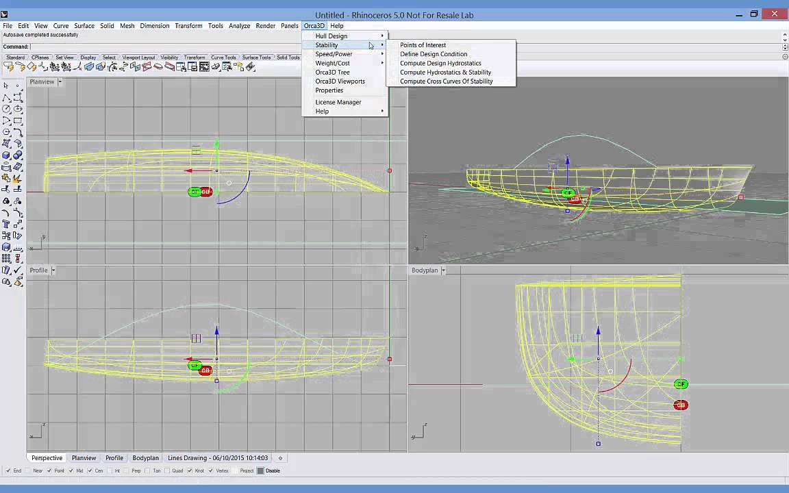 Orca3D Naval Architecture Software | Marine Design Plug-in