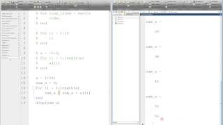 MATLAB For Loop Tutorial