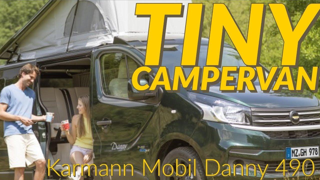 Karmann Mobil Danny 490 campervan review - Свежий сборник лучших