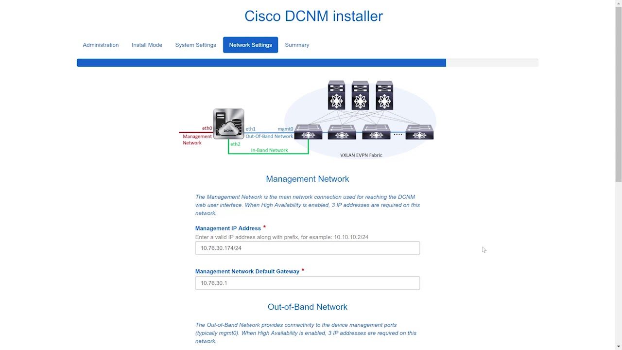 Demo: Installing Cisco DCNM Using Web Installer, Release 11 0(1)