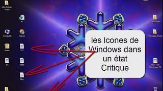 Réparation et Changement des Icones de Bureau Windows 7 et 8