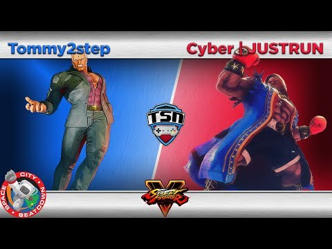 SCB (10-7-17) SFV - Tommy2step (Urien) vs. Cyber | JUSTRUN (Balrog) - Losers Quarters