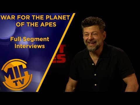 War of the Planet of the Apes - Starring Andy Serkis, Woody Harrelson