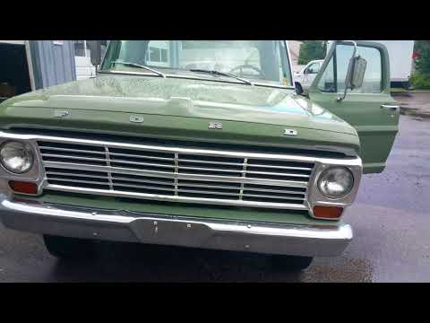1969 Ford F-100 Contractor Special. California truck 1 of 96