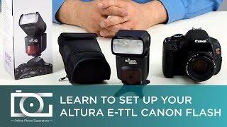 Флеш-поради | як використовувати ручний S1 і S2 режим на E-TTL спалах для Canon (АП-помилку c1001) | Altura фотографія®