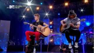Justin Bieber Wheat Kings/One Time at MTV World Stage Malysia