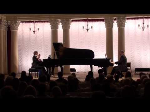 Rutsinski-Begma piano duo Poulenc, Ravel, Arutiunian