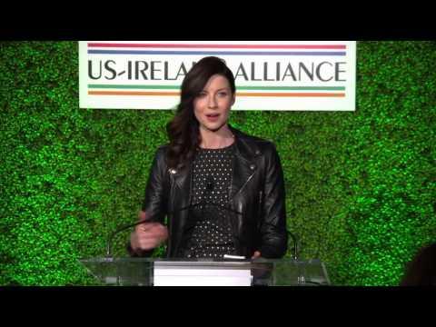 Outlander | Caitriona Balfe ~ Oscar Wilde Awards Speech